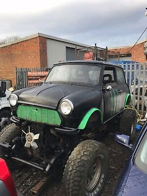 mini monster truck project off roader 4x4