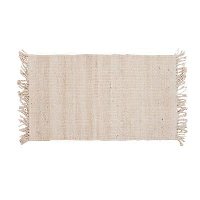 Lovable Blanched Jute New Carpet Collection - 5' x 7'6""