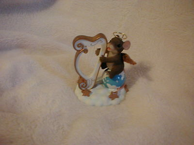 Charming Tails - Harp The Herald Angel Signs !   Signed !
