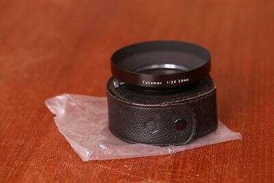 Pentax Takumar 28mm f/3.5 lens hood - original bag and box, 58mm clamp on.