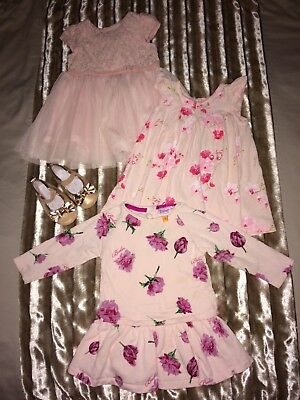 Ted baker and next baby girl dress bundle 6-9 months