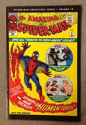 Spider-Man Collectible Series Volume #18  -The Human Torch -Marvel Reprint 2006
