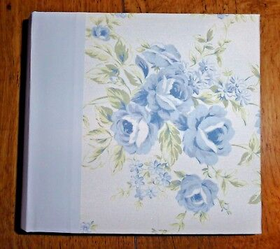Simply Shabby Chic Blue Floral Photo Album, Holds 100 4 x 6 Photos