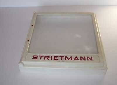 Strietmann Biscuit Co. Cracker Lid - used in General Store on boxes of crackers