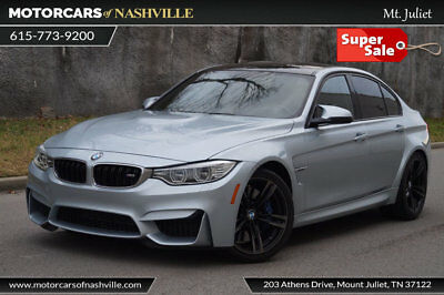2015 BMW M3 Base Sedan 4-Door '13 BMW M3 SMG Executive Pkg Carfax Certified Warranty MSRP $71,885