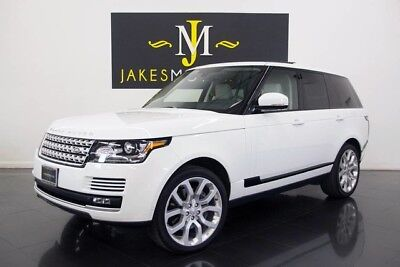 2015 Land Rover Range Rover Supercharged (1-OWNER) 2015 RANGE ROVER SUPERCHARGED~1-OWNER! 33K MILES, WHITE/CIRRUS, LOADED W/OPTIONS