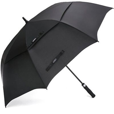 Golf Umbrella 68 Inch Windproof Double Canopy Vented Extra Large Waterproof