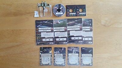 Star Wars X-Wing Miniatures Game - X-Wing with Wedge Antilles - Set 2!!