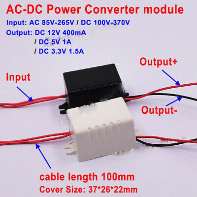 AC-DC Converter AC 110V 220V 230V to DC 3.3V 5V 12V Power Switching Transformer
