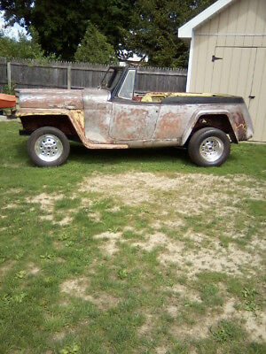 1951 Willys Jeepster Project Car, Many parts, no engine
