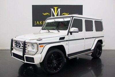 2016 Mercedes-Benz G-Class G550 DESIGNO**G63 AMG UPGRADES!** 2016 G550 DESIGNO~ G63 UPGRADES~ SPECIAL ORDERED PEARL WHITE ON DESIGNO RED!