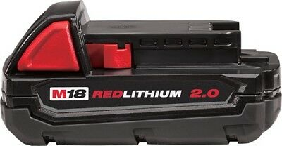 Milwaukee 18 Volt M18 Red Lithium 2.0 Compact Battery 48-11-1820