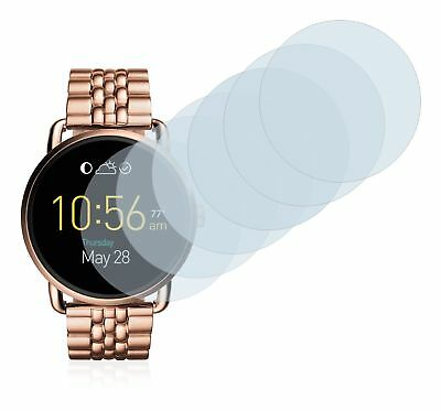 Fossil Q Wander  Smart Watch,  6x Transparent ULTRA Clear Screen Protector