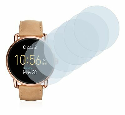 Fossil Q Wander 2.0  Smart Watch,  6x Transparent ULTRA Clear Screen Protector