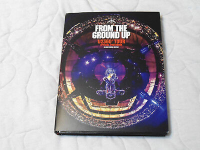 U2. From The Ground Up. Fan Club Tour Book + Lithographs + 15 Track CD. Rare