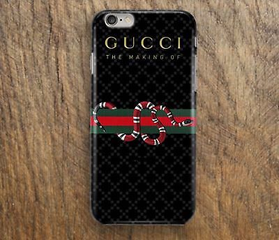 New Design 3 Line Snake-Gucci2017 Case for iPhone 7 7plus 8plus