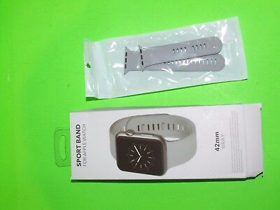Genuine Apple Watch 42mm Sports Band ! BestBuy Official Brand ! Open Box ! GRAY