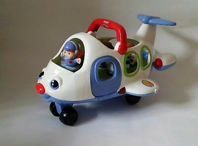 Fisher Price little people plane,pilot and passangers