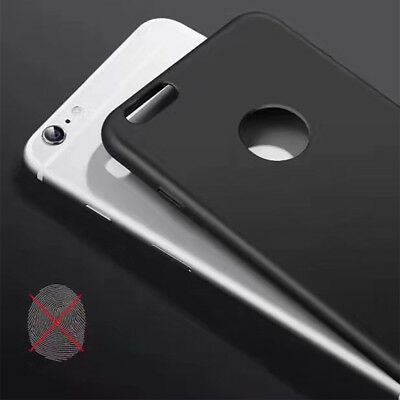For Apple iPhone 6s 7 8 Plus X Accessories Thin Slim PC Hard Phone Case Cover AA