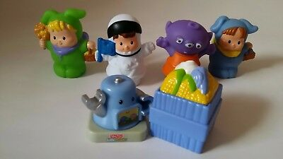 Fisher Price little people astronaut, alien, babies and robot