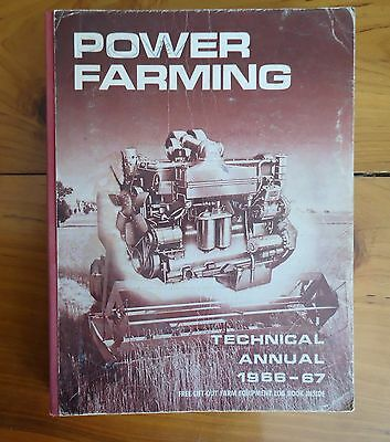 Vintage1966-67 Power Farming Technical Annual