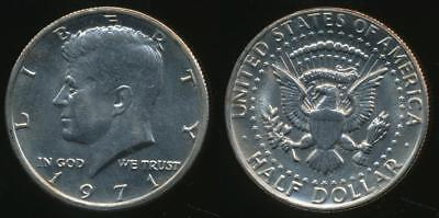United States, 1971 Half Dollar, Kennedy - Uncirculated