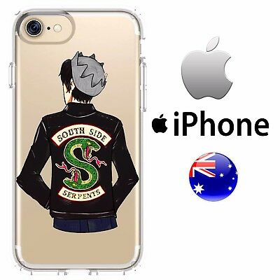 iPhone Silicone Case Cover Riverdale Netflix Series Cute bad boy Jughead Cole A