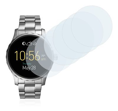 Fossil Q Marshal 2.0  Smart Watch,  6x Transparent ULTRA Clear Screen Protector