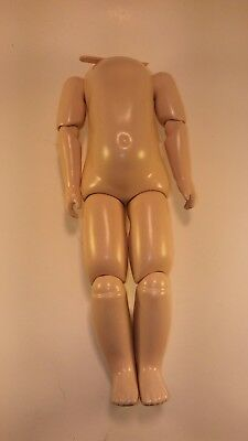 """French bru or German bisque reproduction DOLL BODY 10 3/4"""" ,"""