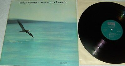 Chick Corea-Return To Forever - ECM Records ECM 1022 ST  LP/Vinyl  Jazz