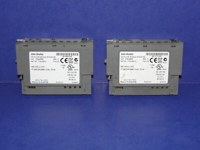 LOT OF 2 Allen Bradley 1734-ARM Series C Address Reserve Module POINT I/O