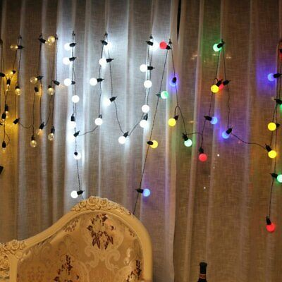 Bulb Light G40 Globe String LED for Wedding and Party Holiday Decor Various