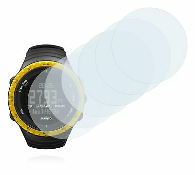 Suunto Core Sahara Yellow Watch, 6x Transparent ULTRA Clear Screen Protector