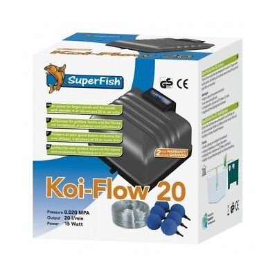 Koi-Flow 20 (1200L/H) Superfish