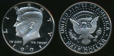 United States, 1991-S Half Dollar, Kennedy - Proof