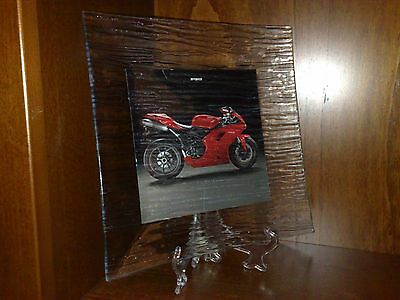 Ducati plate collezione 1198 1098 848 Idea Regalo moto sbk workArt collection