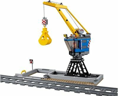 LEGO CITY TRAIN CONSTRUCTION CRANE FROM 60098 NEW & SEALED - Without Tracks