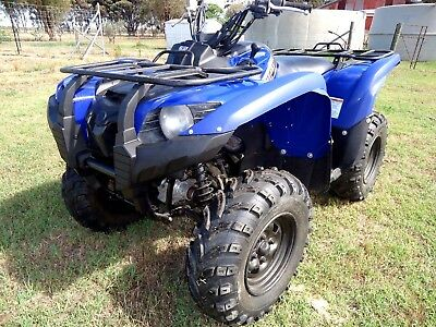 2014 Yamaha YFM550 4wd Power Steering Quad ATV