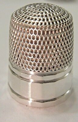 Simons Brothers Sterling Silver Thimble
