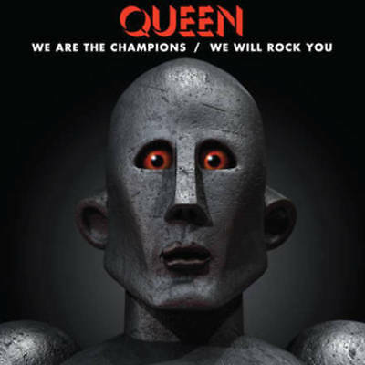 """RSD Black Friday 2017: QUEEN We Are The Champions/We Will Rock You 12"""" EP - Neu!"""