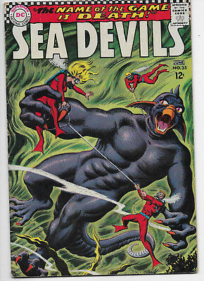 Sea Devils 35 1967 Good