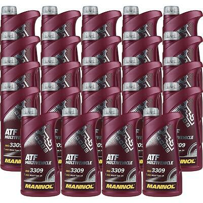 24x1 LITRE GENUINE Mannol mn8210-4me ATF MULTIVEHICLE Automatic Transmission