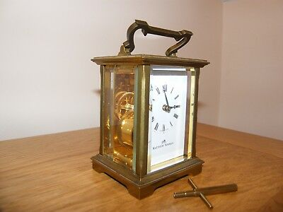 Fabulous Mathew Norman 5 glass carriage clock GWO
