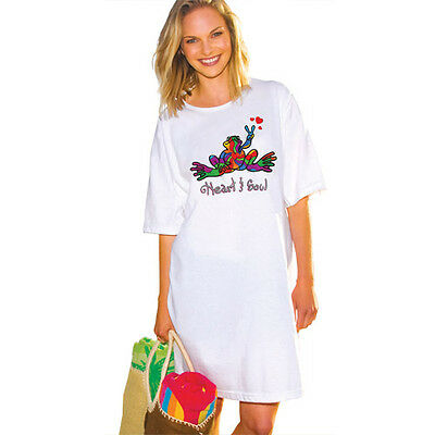 Peace Frogs Heart & Soul Night Shirt