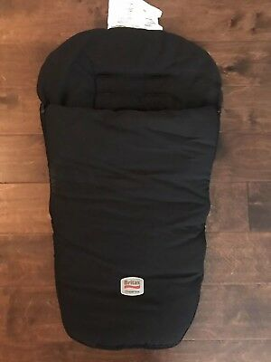 Foot Muff Blanket Like Attachment To Cover The Child's Legs And Feet Black
