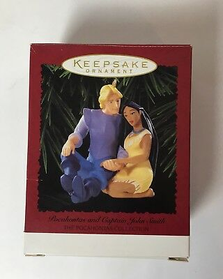 Hallmark Keepsake Ornament Disney Pocahontas and Captain John Smith