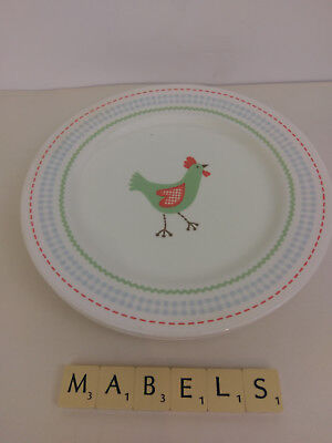 TESCO ~CHICKEN~ side plates x 2