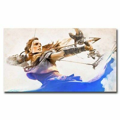Horizon Zero Dawn Aloy 12x21inch Game Silk Poster Cool Gifts Door Wall Decals