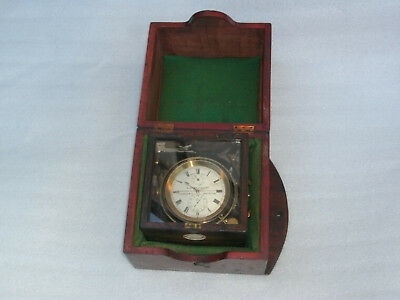 Antique McGregor & Co Marine Chronometer