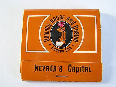 Ormsby House & Casino Carson City Nevada Full Unstruck Matchbook